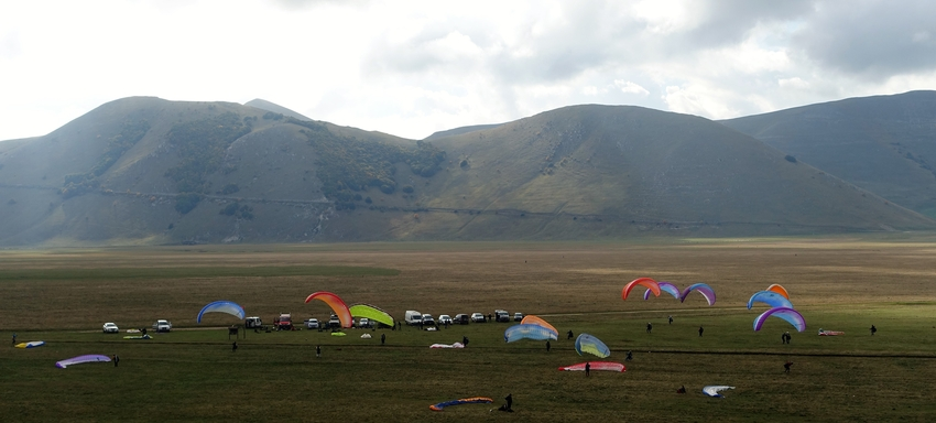 Castelluccio Trainingscamp